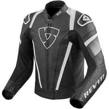Blousons noirs Rev'it en cuir de vache pour motocyclette