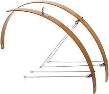 """Profilschutzbleche 28"""", Flat Fender, Fixie, Bambus, Holzschutzbleche, 32mm breit"""