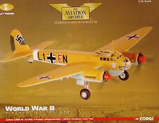 CORGI AVIAZIONE aa36701 Junkers Ju88 11 Gruppe HERAKLION Crea nuovo imballato