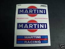 ADESIVI MARTINI KIT MOTO SCOOTER AUTO BICI STICKERS *
