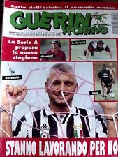 Guerin Sportivo 30 1995 Poster Dario Silva Cagliari - Ravanelli Juventus [GS24]