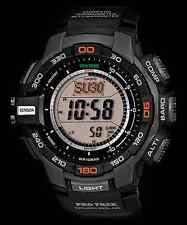 Casio ProTrek PRG270-1 Black Wristwatch Triple Sensor Version 3 - PRG-270-1