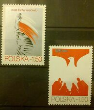 POLAND STAMPS MNH 1Fi2492-93 Sc2348-49 Mi2640-41 - Philatelic Exhibit, 1979, **