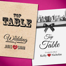 Vintage Wedding Table Numbers/Names Personalised *free draft*  Stationery