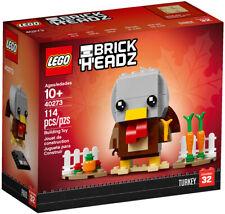Lego 40273, BrickHeadz Thanksgiving Turkey #32, Nib, In Hand Ready to Ship, New!