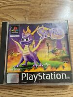 Spyro the Dragon Ps1 PlayStation - Works PS2 - Rare vintage game