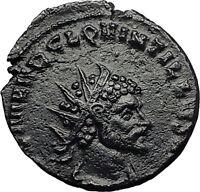 QUINTILLUS 270AD Rome FIDES TRUST Original Authentic Ancient Roman Coin i58656