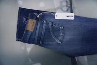 GAS Christy N Regular Damen Stretch Jeans Hose W27 L34 Straight used blau NEU