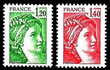 SELLOS FRANCIA 1980 2101/02 BASICA 2v.