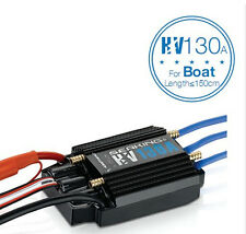 Hobbywing SeaKing HV V3 Waterproof 130A No BEC 5-12S Lipo Brushless ESC for Boat