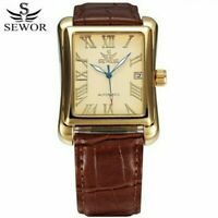 Retro Classic Art Deco Automatic Mechanical Mens Watch 🇬🇧
