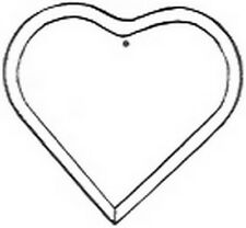 Stained Glass Supplies-BEVEL-HEART (Free Shipping)