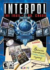 Interpol The Trail Of Dr. Chaos PC Games Window 10 8 7 XP Computer hidden object