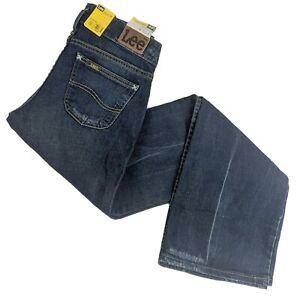 Lee Vintage Womens Leola Slim Fit Extra-Low Bootcut Jeans (UK Size 9, 27W / 31L)