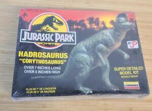 Lindberg Jurassic Park Hadrosaurus Corythosaurus Plastic Model Kit #70275 Sealed