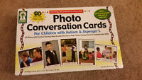 Key Education Photo Conversation Cards for Children w/ Autism & Asperger's