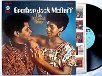 Brother Jack McDuff THE NATURAL THING 1968 lp Cadet LPS 812 stereo PROMO