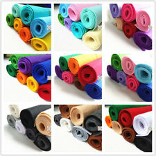 7 Rolls Bundle Non Woven Felt Fabric Wool Blend DIY Sew Quilted Craft Material