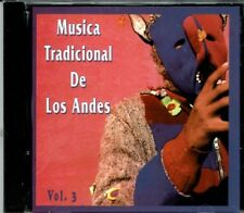 Musica Tradicional de los Andes  Vol 3 BRAND  NEW SEALED CD