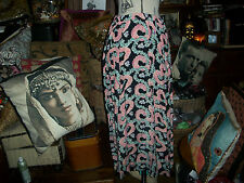 JANICE MCCARTY Adorable Floral Print Skirt Size L
