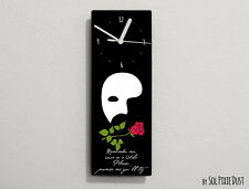 Phantom of the Opera Quotes -Remember me,once in a while Please ... - Wall Clock