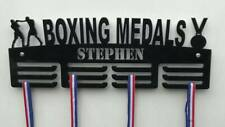Personalised 3Tier BOXING Medal Hanger, Holder, Strong 5mm Acrylic