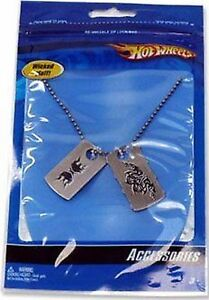 Hot Wheels Dog Tag Necklace - Hot Wheels Party & Gift Supplies