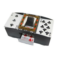 Elektrischer Kartenmischer Poker Spiel Kartenmischmaschine 1-2 Decks
