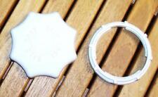 91670172 CANDY ROSIERES Bouchon de bac à sel + écrou + joint pour lave vaisselle