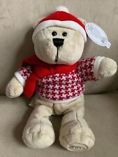 NEW Starbucks Holiday 2018 Collection Bearista Boy Bear Plush Limited Edition10""