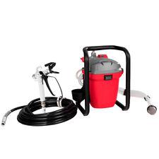 3000PSI 5/8 HP High Pressure Airless Paint Sprayer Wall Painter Spraying Gun Red