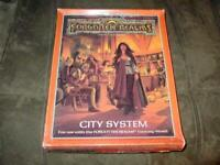 TSR 1988 - Advanced Dungeons & Dragons AD&D - Forgotten Realms - CITY SYSTEM