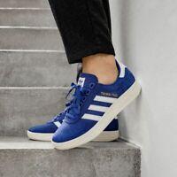 Adidas Men's Size 8 Trimm Trab Merseyside Everton Suede Sneaker BD7628 Soccer