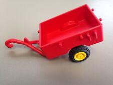 Playmobil Red Pull Along Wheelbarrow Cart Farm Ranch