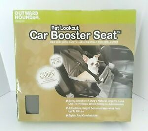 Outward Hound Pet Lookout Car Booster Seat For Pets 20 lbs.