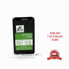 2100mAh KNB-26N KNB-56N Battery for KENWOOD TK-2360 TK-3360 NX-220 NX-320