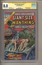 Giant-Size Man-Thing #5 (CGC Signature Series 8.0) Frank Brunner; 1975 (c#27695)