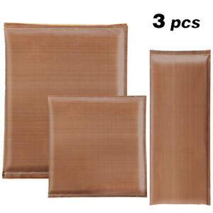 3pcs Heat Press Pillow Teflon Sublimation Printing Pad Heat Transfer Cushion DIY