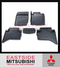 GENUINE MITSUBISHI TRITON MQ MR DUAL CAB RUBBER FLOOR MATS - MZ330783