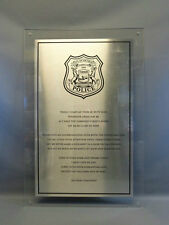 Robocop (2014) Screen and Production Used Sign with COA LARGE PROP alex murphy