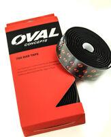 Oval Concepts 700 Drop / Aero Handlebar Bar Tape Black / Red 2 Meters NEW