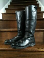 WW2 Original German Officer Mounted Parade Boots NM Rare 9.5-10