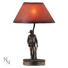 LAMP JOHN WAYNE OFFICIAL STANDING UP THE DUKE NEW FROM NEMESIS NOW BRONZE EFFECT
