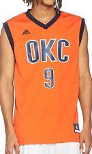 adidas oklahoma City Thunder Serge Ibaka Basketball Jersey - Orange