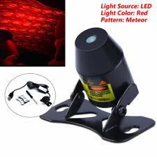 8V~36V Meteor Star Red LED Car Ambient Ceiling Light USB Galaxy Lamp Projector