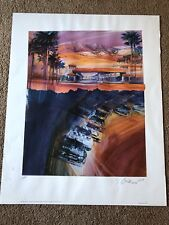 George Bartell Inaugural California 500 Pencil Signed Artist Proof Lithograph