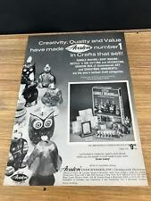 1972 Vintage 8X11 Toy Industry Print Ad For Avalon Candle/Soap Making Craft Kits