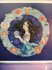Zodiac Picture Cross Stitch Pattern - Queen of the Night