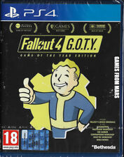 FALLOUT 4 GOTY GAME OF THE YEAR EDITION PS4 NUOVO ITALIANO
