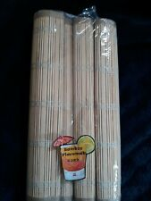 Bamboo Placemats 4 Pack